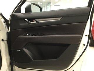 2019 Mazda CX-8 KG4W2A Asaki SKYACTIV-Drive i-ACTIV AWD Snowflake White 6 Speed Sports Automatic