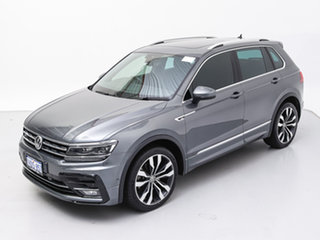 2018 Volkswagen Tiguan 5NA MY18 162 TSI Highline Grey 7 Speed Auto Direct Shift Wagon