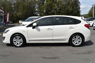 2016 Subaru Impreza G4 MY16 2.0i AWD White 6 Speed Manual Hatchback