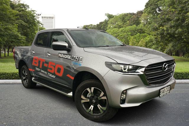 Demo Mazda BT-50 TFS40J XTR, 2020 Mazda BT-50 TFS40J XTR Ingot Silver 6 Speed Sports Automatic Utility