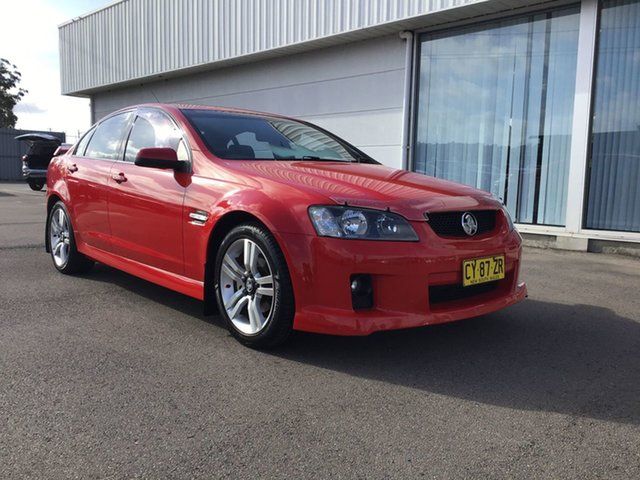 Used Holden Commodore VE MY09.5 SV6 Cardiff, 2009 Holden Commodore VE MY09.5 SV6 Red 5 Speed Sports Automatic Sedan