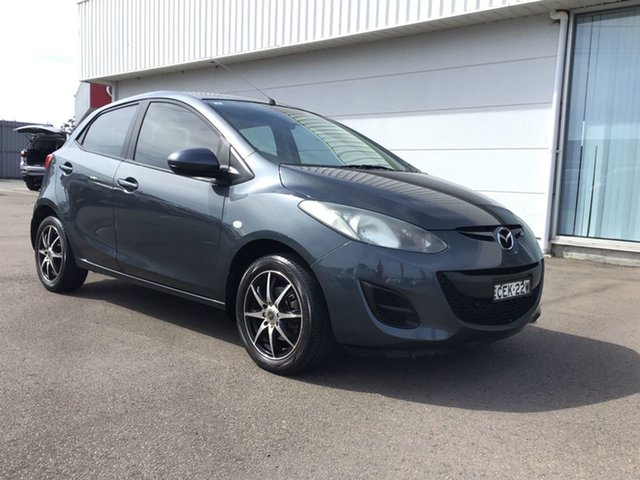 Pre-Owned Mazda 2 DE10Y2 MY12 Neo Cardiff, 2012 Mazda 2 DE10Y2 MY12 Neo Graphite 5 Speed Manual Hatchback