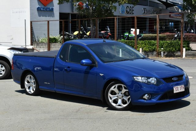 Used Ford Falcon FG XR6T Underwood, 2010 Ford Falcon FG XR6T Blue 6 Speed Auto Seq Sportshift Utility