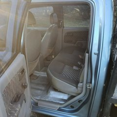 2002 Holden Rodeo TF MY02 LX Crew Cab Blue 5 Speed Manual Utility