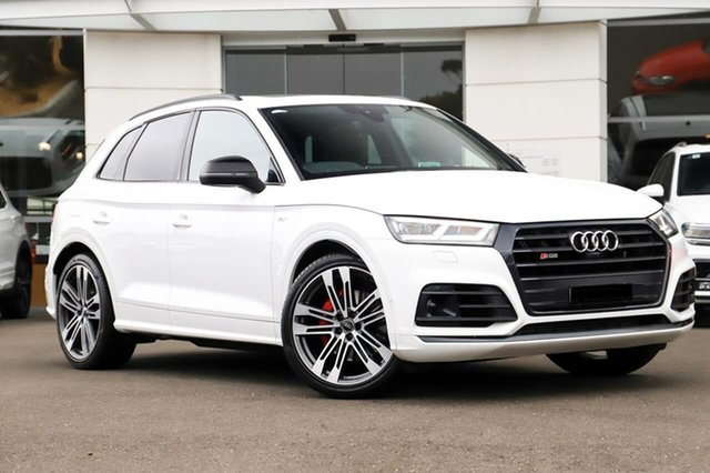 Used Audi SQ5 FY MY18 Tiptronic Quattro Sutherland, 2018 Audi SQ5 FY MY18 Tiptronic Quattro White 8 Speed Sports Automatic Wagon