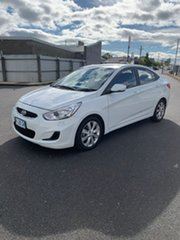 2017 Hyundai Accent RB6 MY18 Sport White 6 Speed Sports Automatic Sedan
