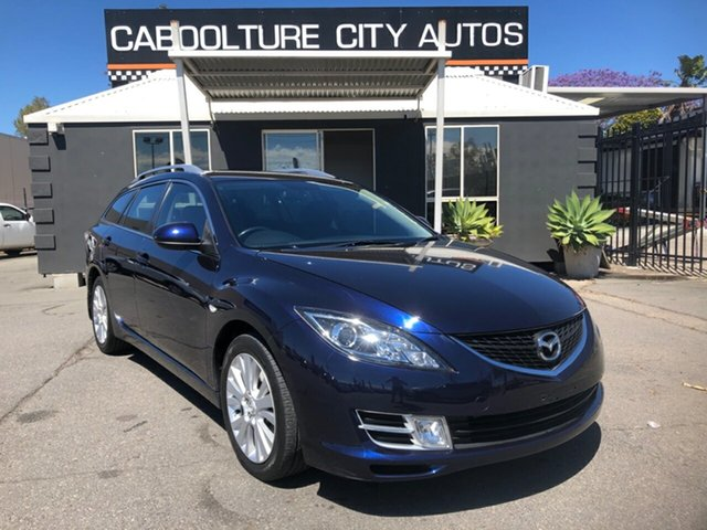 Used Mazda 6 GH Classic Morayfield, 2008 Mazda 6 GH Classic Blue 5 Speed Auto Activematic Wagon