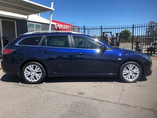 2008 Mazda 6 GH Classic Blue 5 Speed Auto Activematic Wagon.