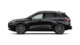 2020 Ford Escape ZH 2021.25MY ST-Line Agate Black 8 Speed Sports Automatic SUV.