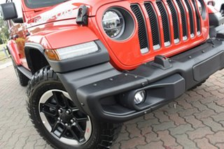 2020 Jeep Wrangler JL MY20 Unlimited Rubicon Firecracker Red 8 Speed Automatic Hardtop.