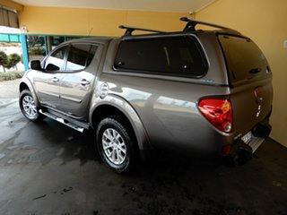 2014 Mitsubishi Triton MN MY15 GLX-R Warrior (4x4) Brown 5 Speed Manual 4x4 Double Cab Utility.