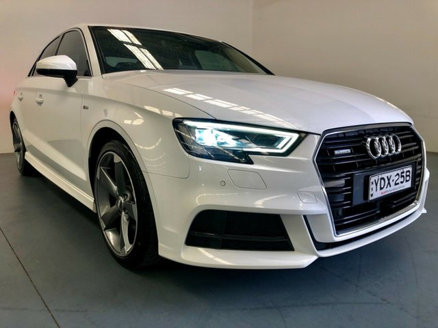 Used Audi A3 8V MY17 Sport S Tronic, 2016 Audi A3 8V MY17 Sport S Tronic White 7 Speed Sports Automatic Dual Clutch Sedan