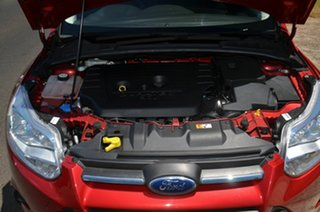 2012 Ford Focus LW Trend Red 6 Speed Automatic Hatchback