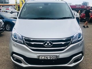 2016 LDV G10 SV7A Silver, Chrome 6 Speed Sports Automatic Wagon