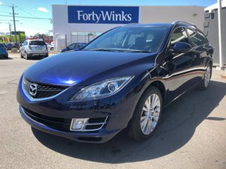 2008 Mazda 6 GH Classic Blue 5 Speed Auto Activematic Wagon