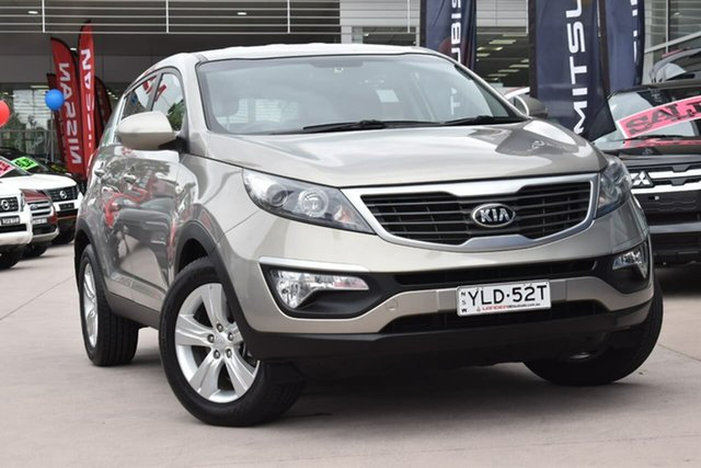 Used Kia Sportage SL Series II MY13 SI, 2013 Kia Sportage SL Series II MY13 SI Champagne 6 Speed Sports Automatic Wagon