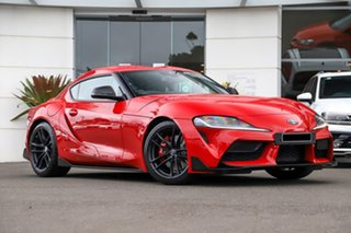 2019 Toyota Supra J29 GR GTS Red 8 Speed Sports Automatic Coupe.