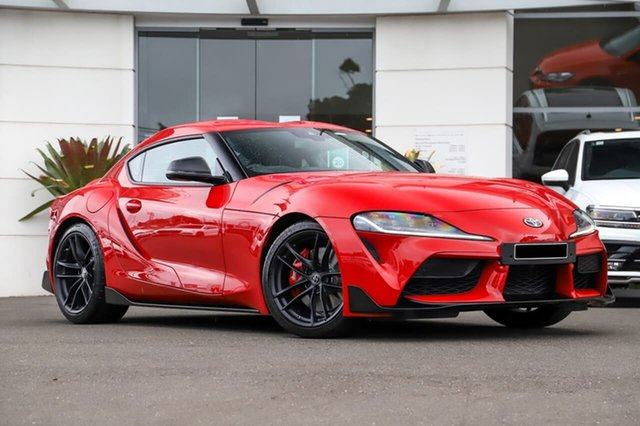 Used Toyota Supra J29 GR GTS, 2019 Toyota Supra J29 GR GTS Red 8 Speed Sports Automatic Coupe