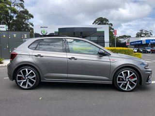 2019 Volkswagen Polo AW MY20 GTI DSG Grey 6 Speed Sports Automatic Dual Clutch Hatchback.