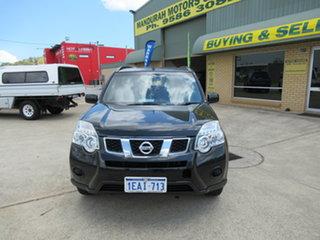 2012 Nissan X-Trail T31 ST Black Automatic Wagon.