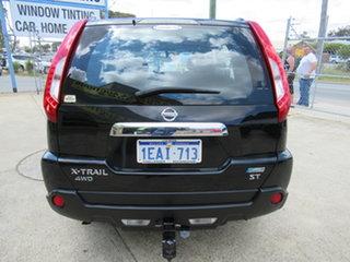 2012 Nissan X-Trail T31 ST Black Automatic Wagon