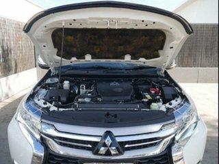 2017 Mitsubishi Pajero Sport MY16 Exceed (4x4) 7 Seat White 8 Speed Automatic Wagon.