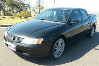2004 Holden Crewman VY II Black 4 Speed Automatic Utility
