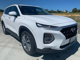 2020 Hyundai Santa Fe TM.2 MY20 Active X White 8 Speed Sports Automatic Wagon.