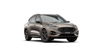 2020 Ford Escape ZH 2020.75MY ST-Line Diffused Silver 8 Speed Sports Automatic SUV