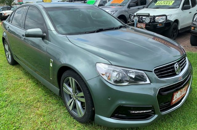Used Holden Commodore VF MY15 SV6, 2015 Holden Commodore VF MY15 SV6 Grey 6 Speed Sports Automatic Sedan