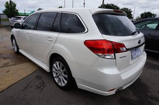 2012 Subaru Liberty B5 MY12 2.5i Lineartronic AWD Satin White Pearl 6 Speed Constant Variable Wagon.