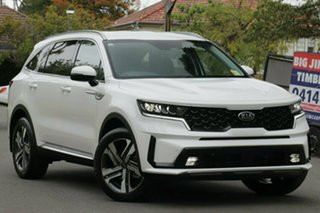 2020 Kia Sorento MQ4 MY21 Sport+ AWD Clear White 8 Speed Sports Automatic Dual Clutch Wagon.