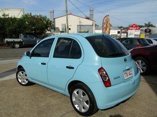 2010 Nissan Micra K12 Blue 4 Speed Automatic Hatchback.