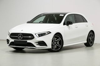 2019 Mercedes-Benz A250 177 MY19 FWD White 7 Speed Auto Dual Clutch Hatchback.