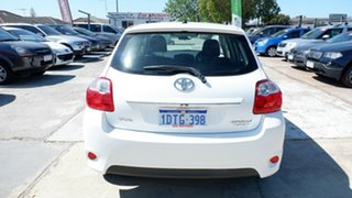 2011 Toyota Corolla ZRE152R MY11 Ascent White 4 Speed Automatic Hatchback