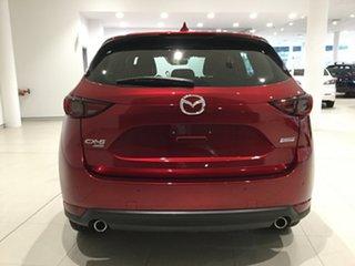 2019 Mazda CX-5 KF4WLA Akera SKYACTIV-Drive i-ACTIV AWD Soul Red 6 Speed Sports Automatic Wagon