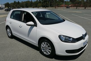 2013 Volkswagen Golf VII MY14 90TSI DSG White 7 Speed Sports Automatic Dual Clutch Hatchback.