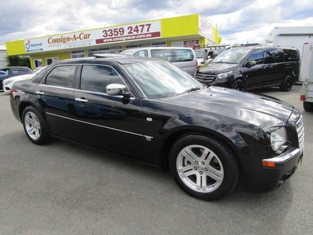 Used Chrysler 300C MY2006 HEMI, 2006 Chrysler 300C MY2006 HEMI Black 5 Speed Sports Automatic Sedan
