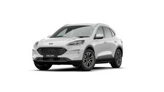 2020 Ford Escape ZH 2021.25MY Frozen White 8 Speed Sports Automatic SUV.