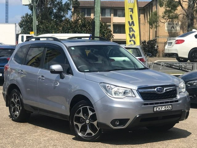 Used Subaru Forester S4 MY15 2.5i-S CVT AWD, 2015 Subaru Forester S4 MY15 2.5i-S CVT AWD Silver, Chrome 6 Speed Constant Variable Wagon