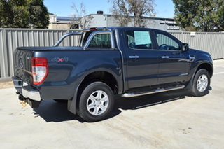 2014 Ford Ranger PX XLT Double Cab Gunmetal Blue 6 Speed Sports Automatic Utility