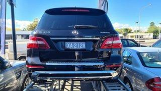2013 Mercedes-Benz M-Class W166 ML350 BlueTEC 7G-Tronic + Obsidian Black Metallic 7 Speed