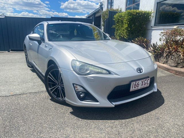 Used Toyota 86 ZN6 GT, 2013 Toyota 86 ZN6 GT Silver 6 Speed Sports Automatic Coupe