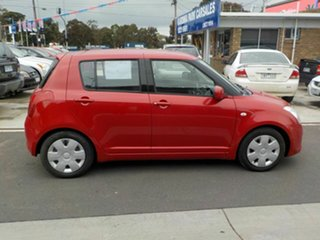 2006 Suzuki Swift EZ Red 5 Speed Manual Hatchback