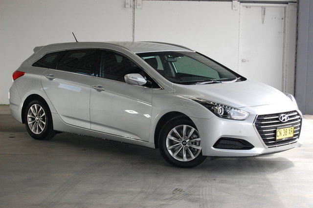 Used Hyundai i40 VF4 Series II Active Tourer D-CT, 2017 Hyundai i40 VF4 Series II Active Tourer D-CT Silver 7 Speed Sports Automatic Dual Clutch Wagon