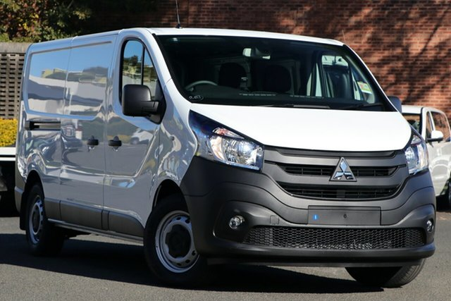 New Mitsubishi Express SN MY21 GLX LWB DCT Beaudesert, 2020 Mitsubishi Express SN MY21 GLX LWB DCT White 6 Speed Sports Automatic Dual Clutch Van