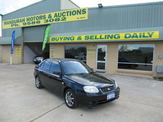 2005 Hyundai Accent LC GL Black 4 Speed Automatic Hatchback.