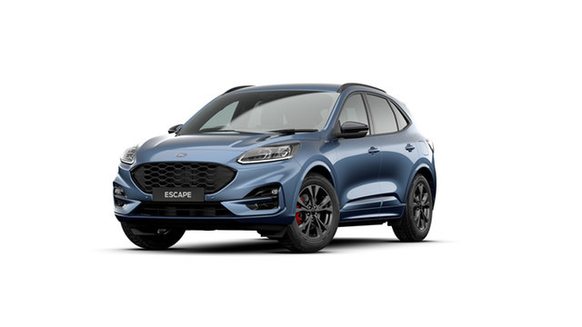 New Ford Escape 2020.75MY ST-Line Bendigo, 2020 Ford Escape 2020.75MY ST-Line Blue 8 Speed Sports Automatic SUV