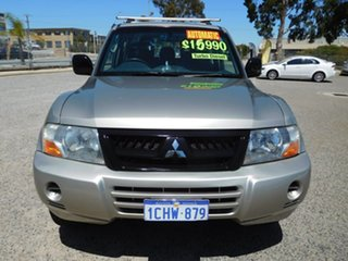 2006 Mitsubishi Pajero NP MY06 GLX Beige 5 Speed Sports Automatic Wagon.