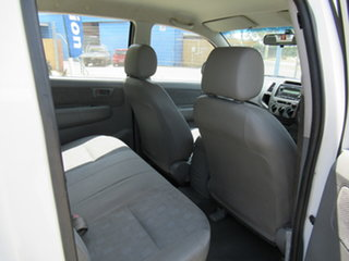 2007 Toyota Hilux KUN16R SR White 5 Speed Manual Dual Cab